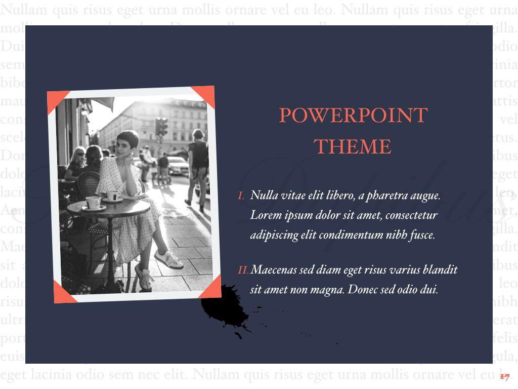 Vintage Album PowerPoint Template, Slide 18, 05810, Presentation Templates — PoweredTemplate.com