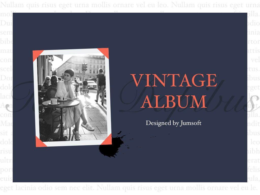 Vintage Album PowerPoint Template, Slide 2, 05810, Presentation Templates — PoweredTemplate.com