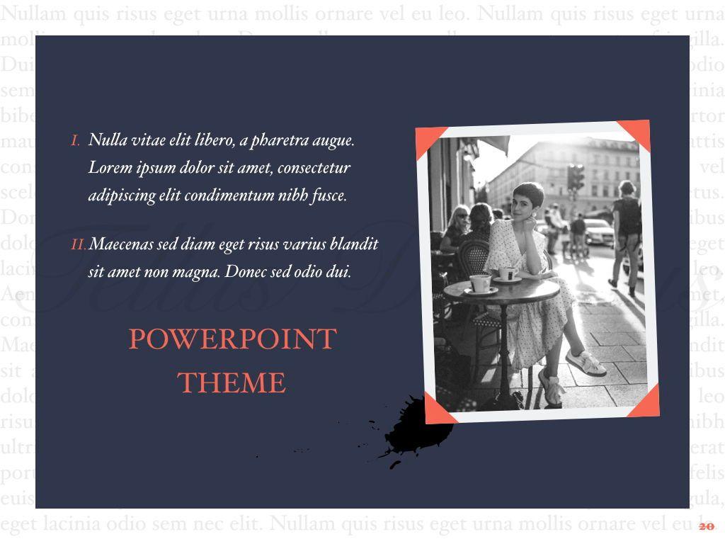 Vintage Album PowerPoint Template, Slide 21, 05810, Presentation Templates — PoweredTemplate.com