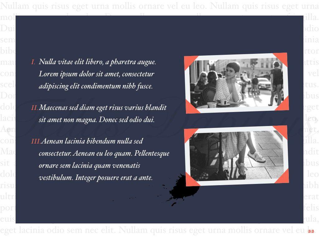 Vintage Album PowerPoint Template, Slide 23, 05810, Presentation Templates — PoweredTemplate.com