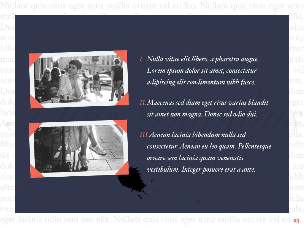 Vintage Album PowerPoint Template, Slide 24, 05810, Presentation Templates — PoweredTemplate.com