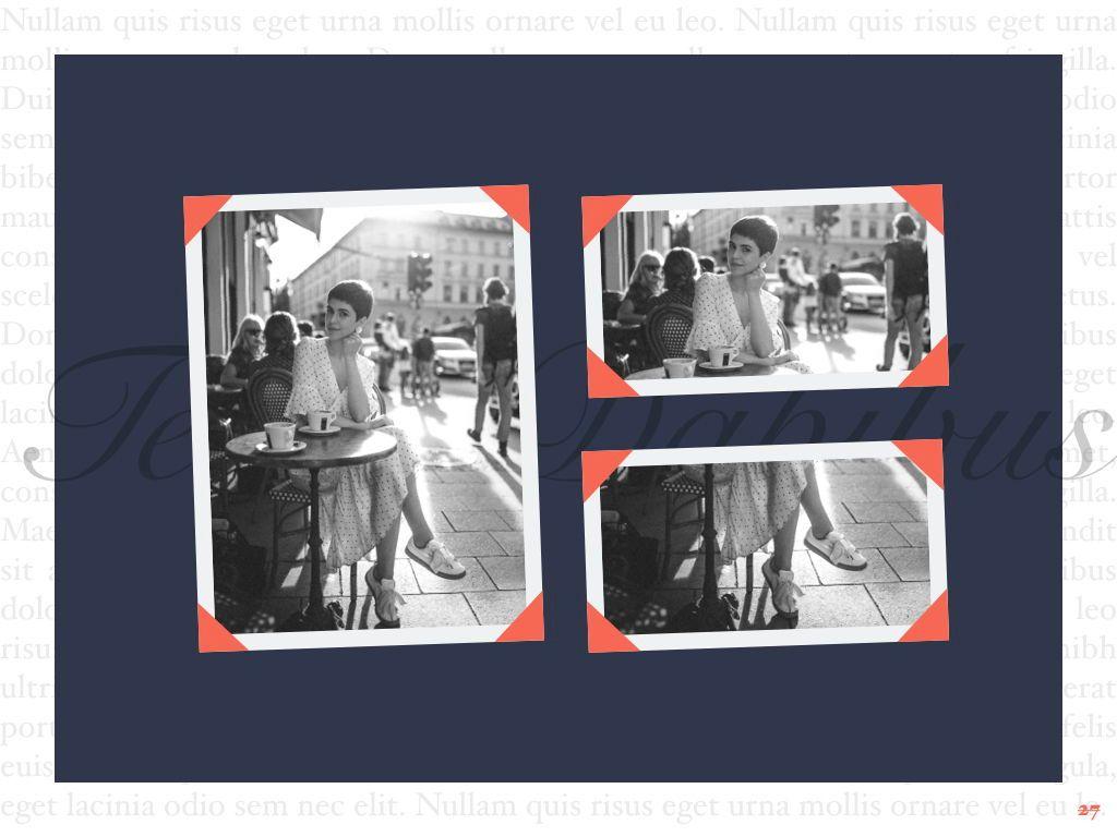 Vintage Album PowerPoint Template, Slide 28, 05810, Presentation Templates — PoweredTemplate.com