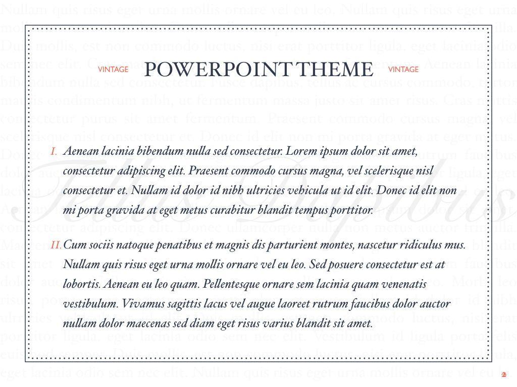 Vintage Album PowerPoint Template, Slide 3, 05810, Presentation Templates — PoweredTemplate.com