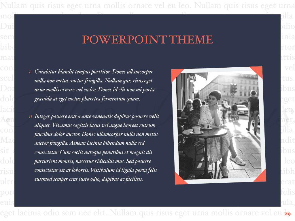Vintage Album PowerPoint Template, Slide 30, 05810, Presentation Templates — PoweredTemplate.com