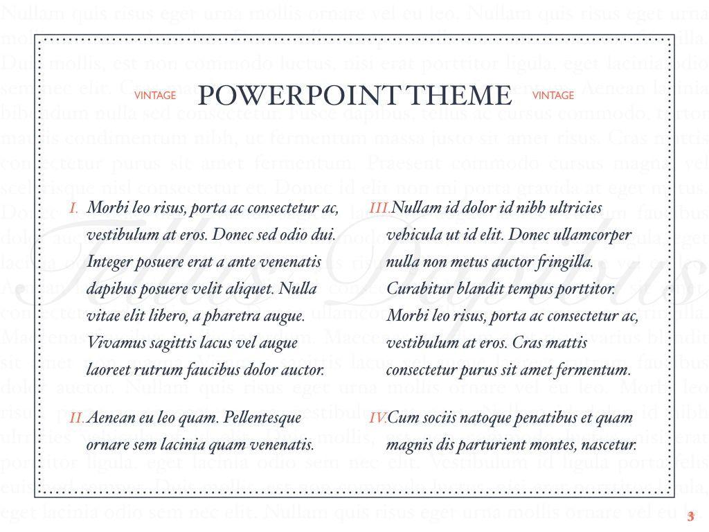 Vintage Album PowerPoint Template, Slide 4, 05810, Presentation Templates — PoweredTemplate.com
