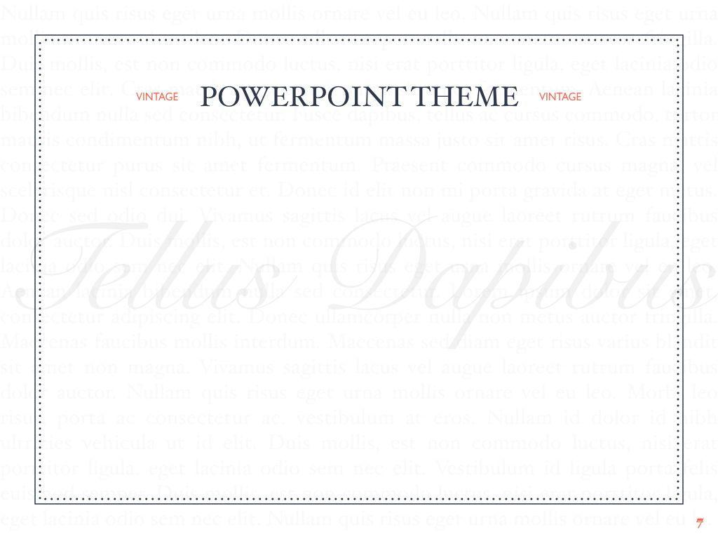 Vintage Album PowerPoint Template, Slide 8, 05810, Presentation Templates — PoweredTemplate.com