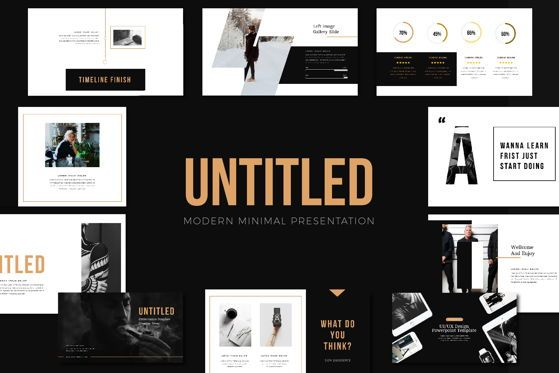 Presentation Templates: Untitled Business Keynote Template #05812