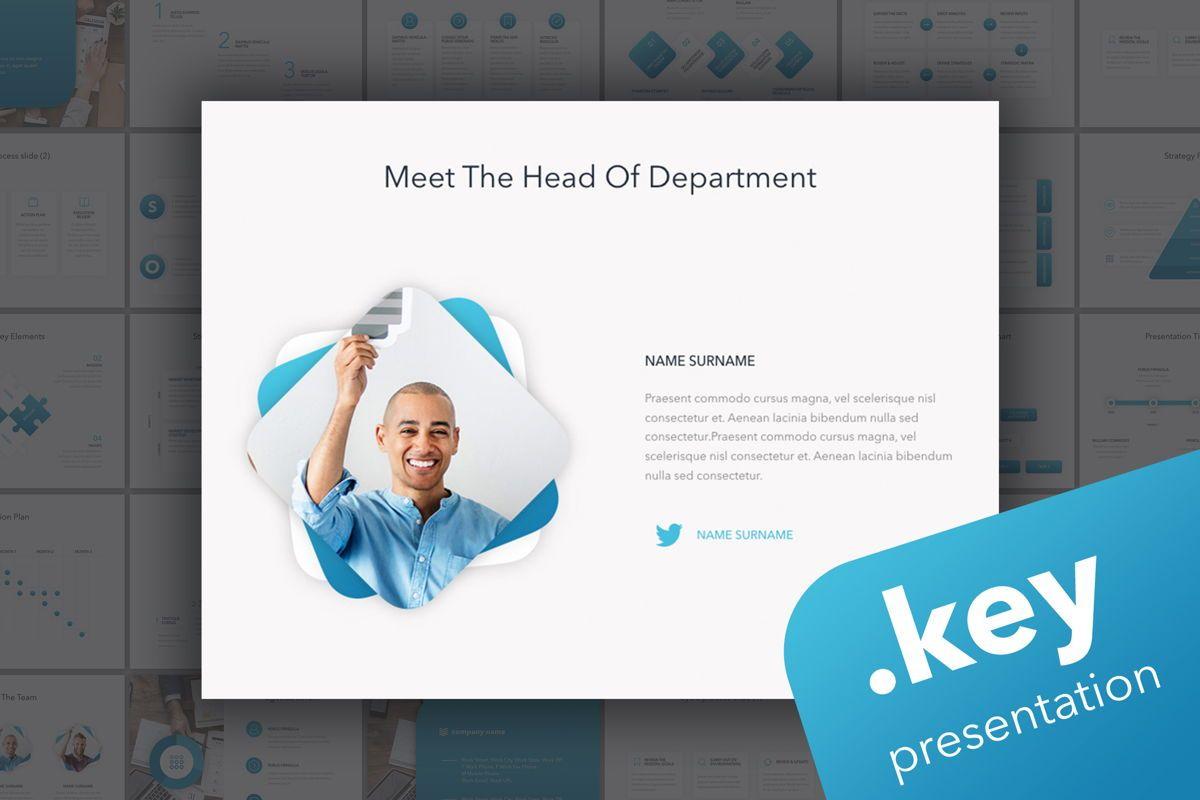 Strategic Planning Keynote Template, 05814, Presentation Templates — PoweredTemplate.com