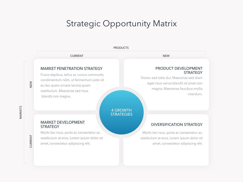 Strategic Planning Keynote Template, Slide 13, 05814, Presentation Templates — PoweredTemplate.com