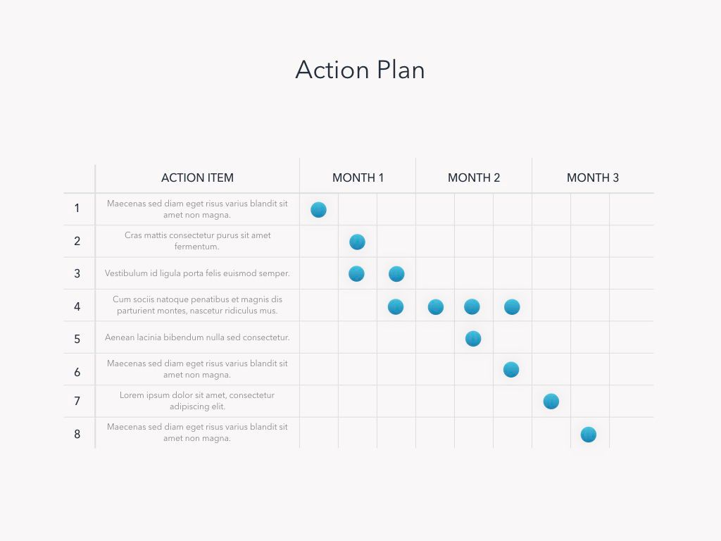 Strategic Planning Keynote Template, Slide 16, 05814, Presentation Templates — PoweredTemplate.com