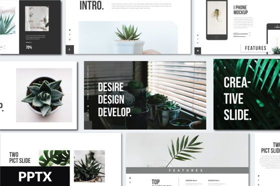 Presentation Templates: Desire Business Presentation Template #05819