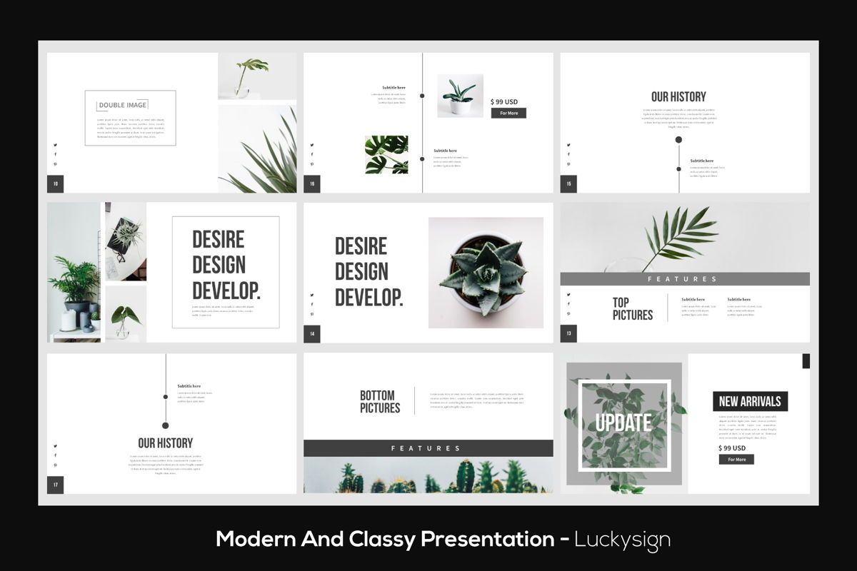 Desire Business Presentation Template, Slide 4, 05819, Presentation Templates — PoweredTemplate.com
