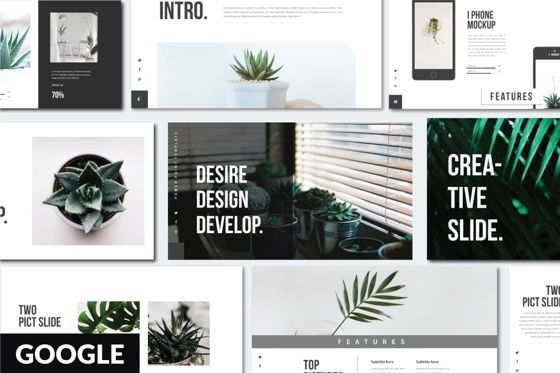 Presentation Templates: Desire Business Googleslide Template #05821