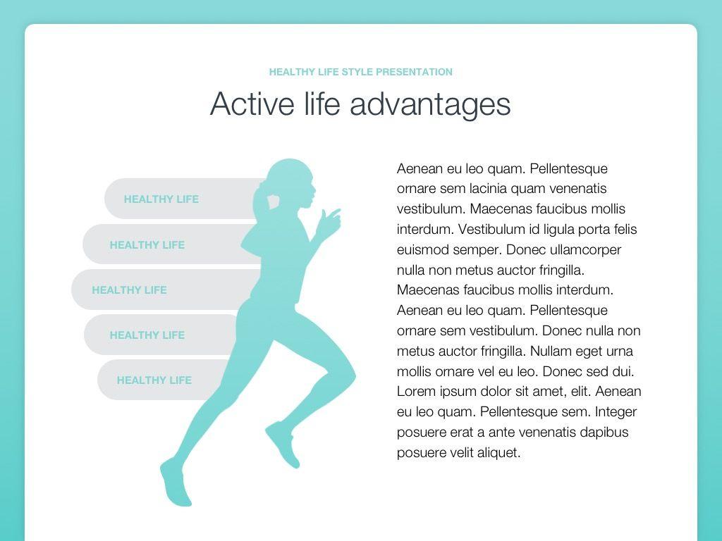 Wellbeing Google Slides Template, Slide 10, 05824, Infographics — PoweredTemplate.com