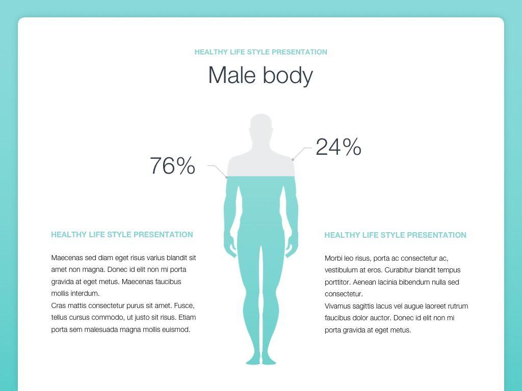 Wellbeing Google Slides Template, Slide 8, 05824, Infographics — PoweredTemplate.com