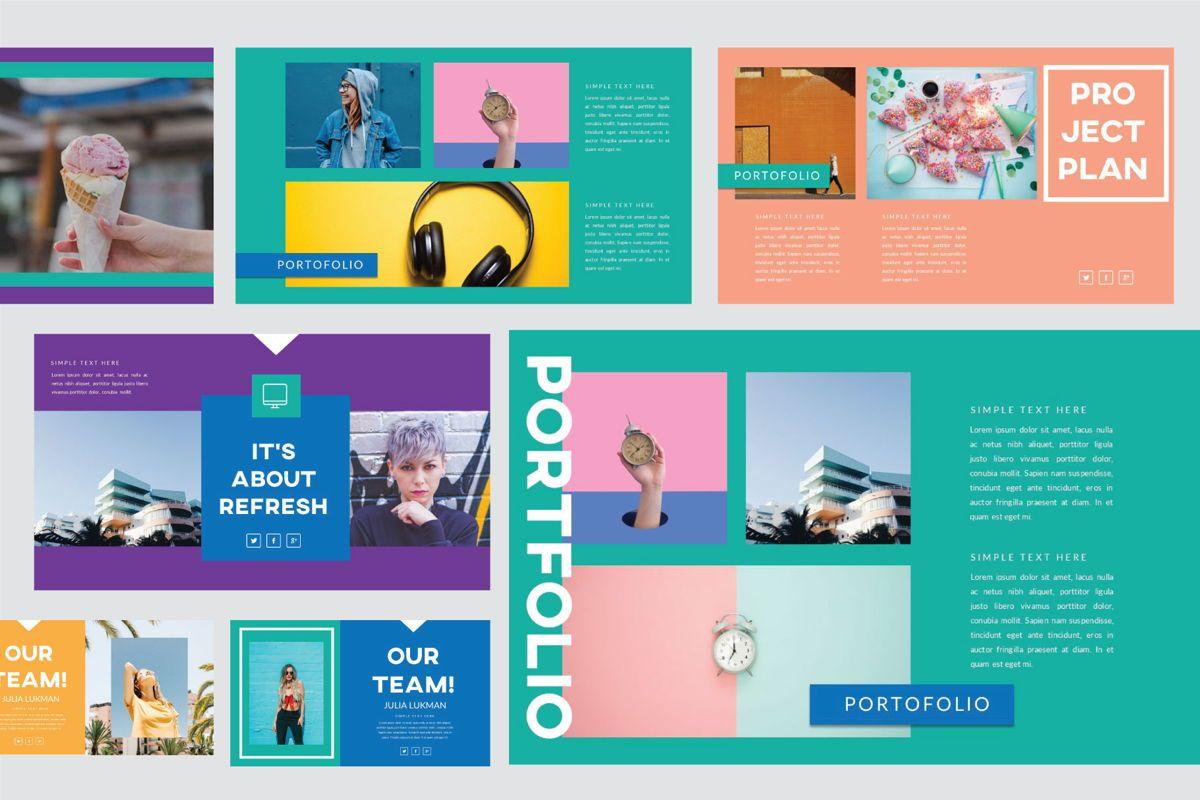 Refresh Business Googleslide Template, Slide 4, 05826, Presentation Templates — PoweredTemplate.com