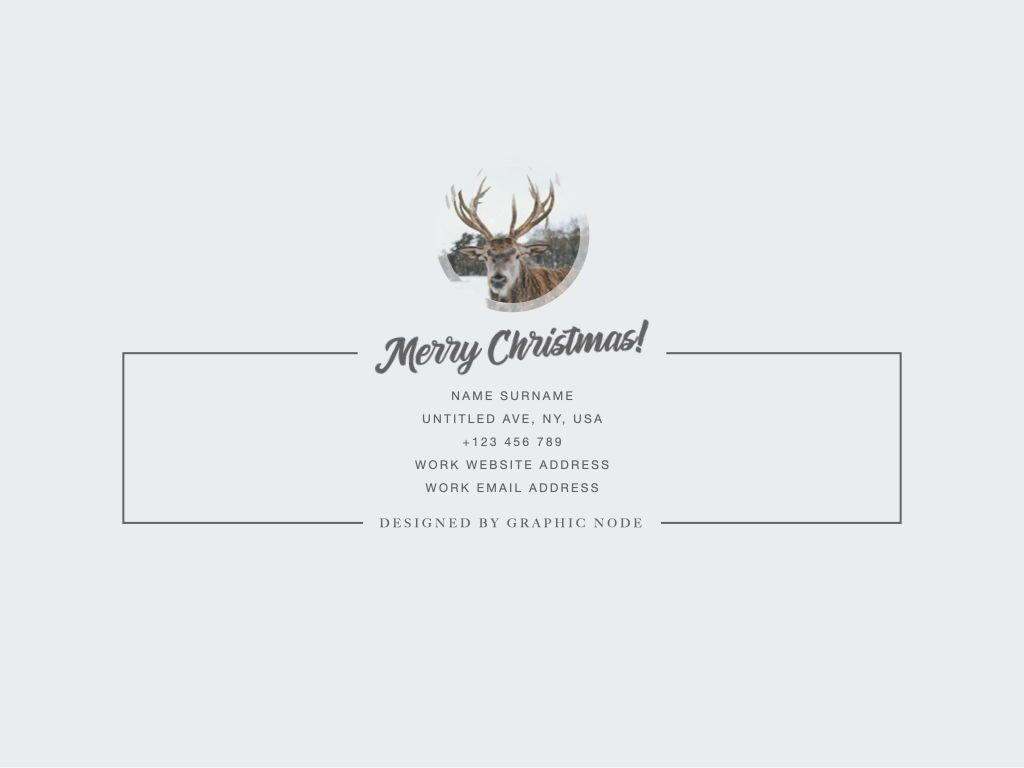Christmas Domain Powerpoint Presentation Template, Slide 3, 05831, Presentation Templates — PoweredTemplate.com