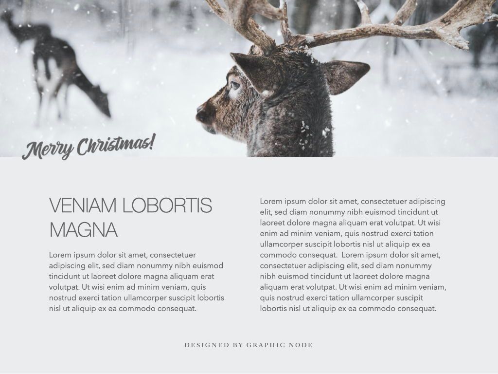 Christmas Domain Powerpoint Presentation Template, Slide 6, 05831, Presentation Templates — PoweredTemplate.com
