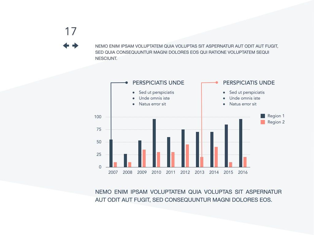 Coral Shapes Powerpoint Presentation Template, Slide 10, 05836, Presentation Templates — PoweredTemplate.com