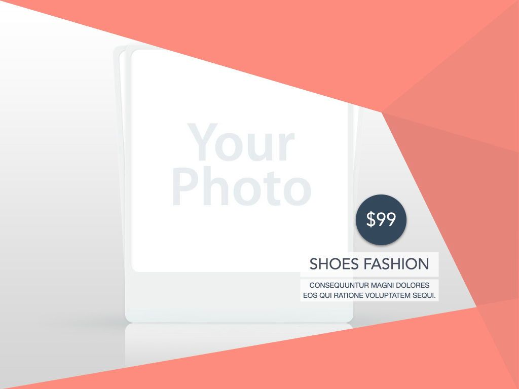 Coral Shapes Powerpoint Presentation Template, Slide 15, 05836, Presentation Templates — PoweredTemplate.com