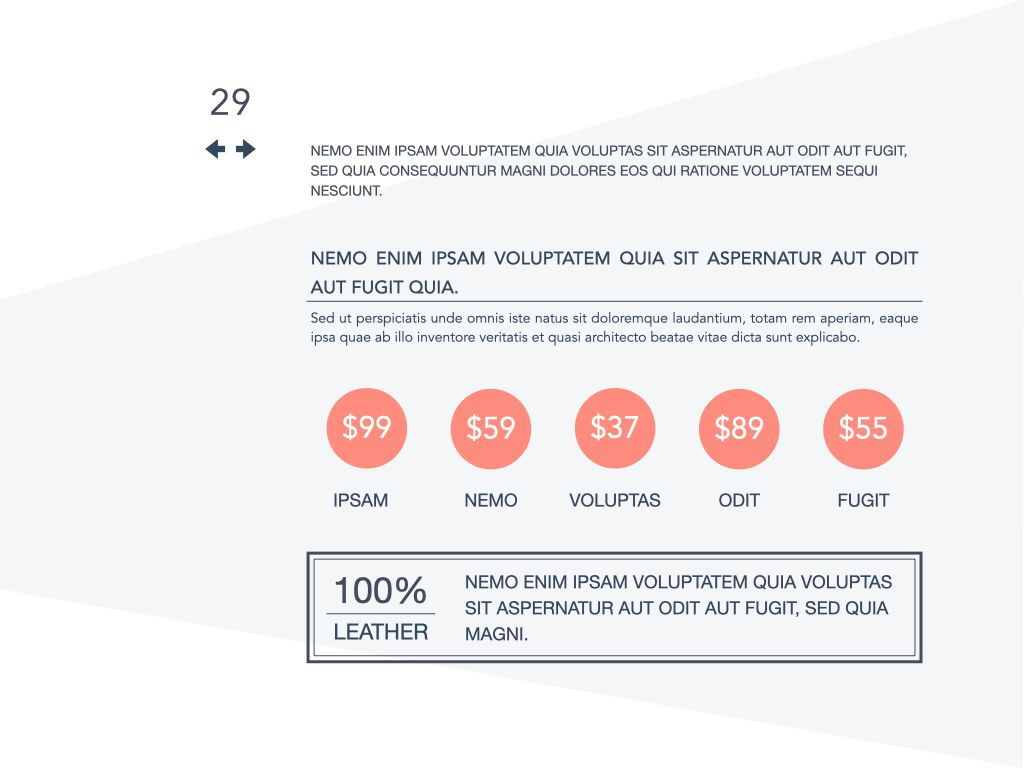 Coral Shapes Powerpoint Presentation Template, Slide 24, 05836, Presentation Templates — PoweredTemplate.com