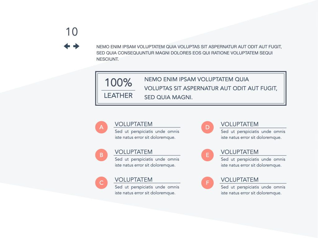 Coral Shapes Powerpoint Presentation Template, Slide 3, 05836, Presentation Templates — PoweredTemplate.com