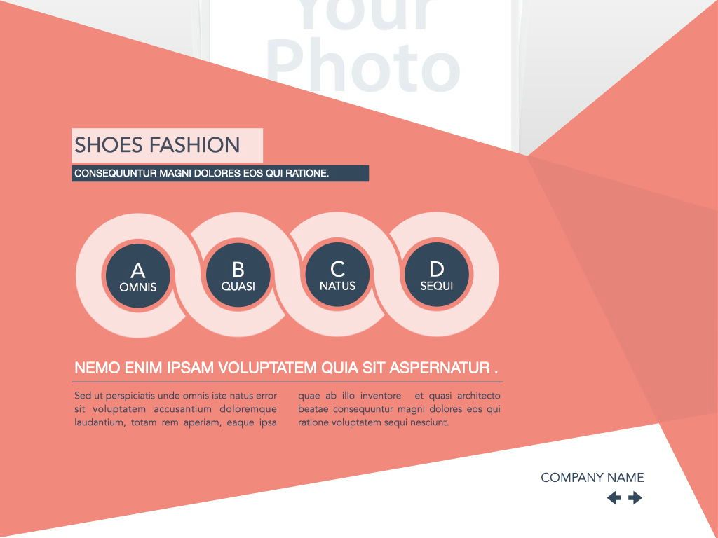 Coral Shapes Powerpoint Presentation Template, Slide 33, 05836, Presentation Templates — PoweredTemplate.com