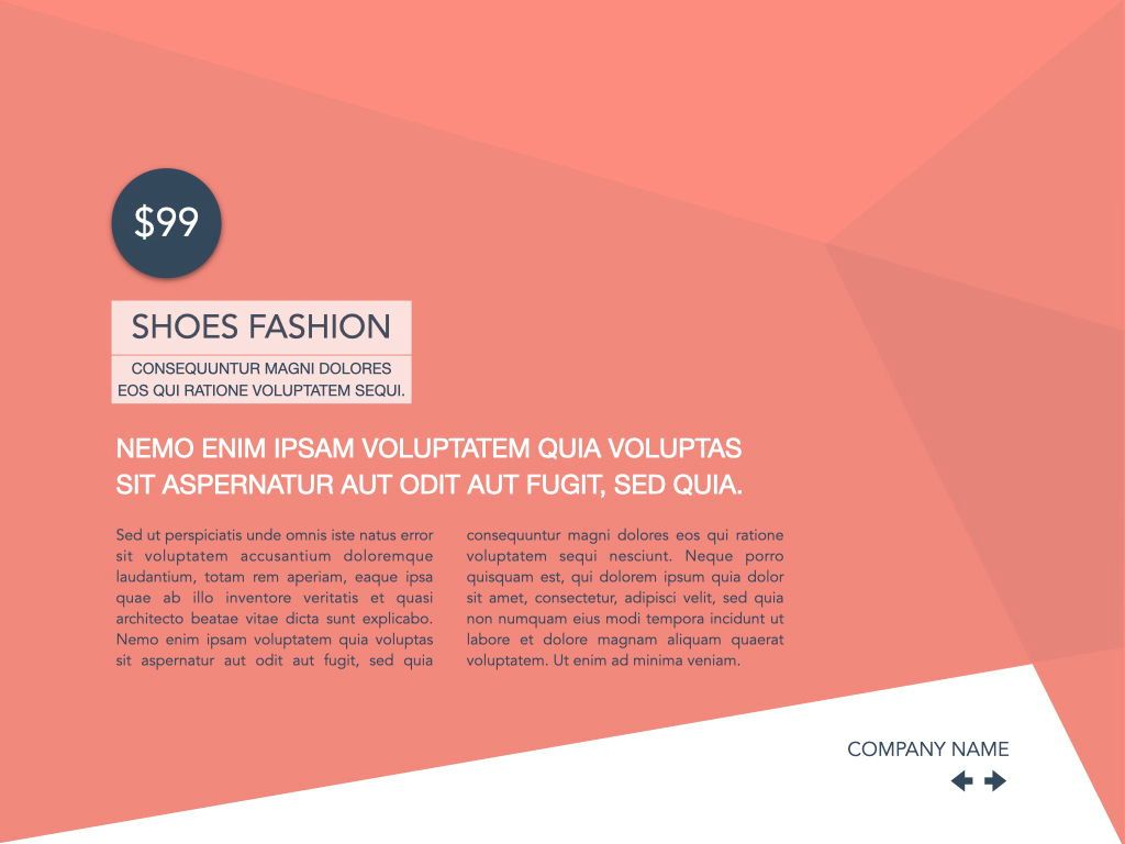 Coral Shapes Powerpoint Presentation Template, Slide 37, 05836, Presentation Templates — PoweredTemplate.com