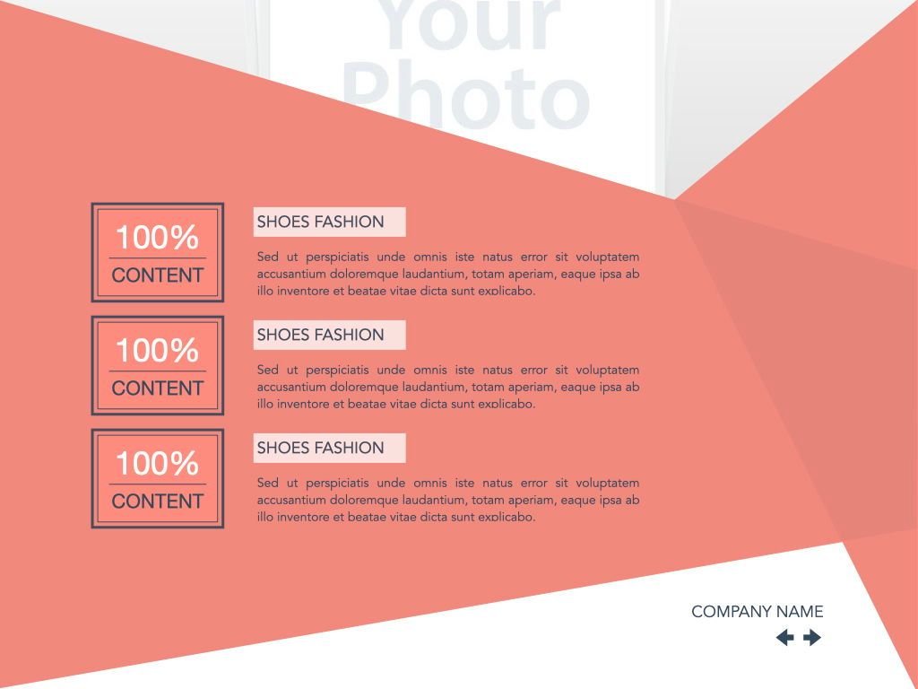 Coral Shapes Powerpoint Presentation Template, Slide 41, 05836, Presentation Templates — PoweredTemplate.com