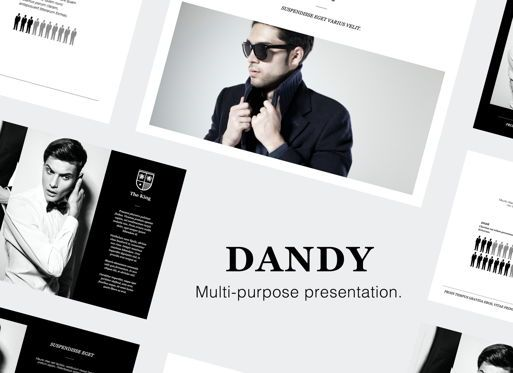 Presentation Templates: Dandy Powerpoint Presentation Template #05837
