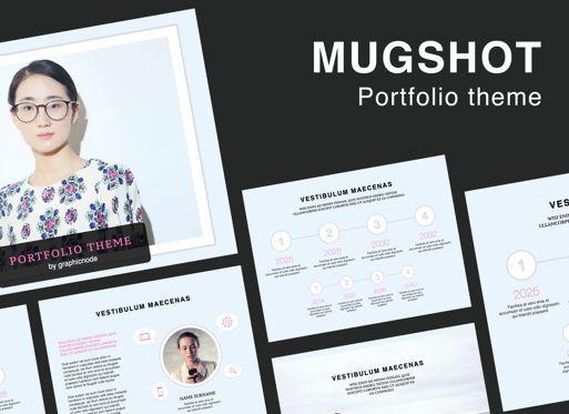 Presentation Templates: Mugshot Powerpoint Presentation Template #05839