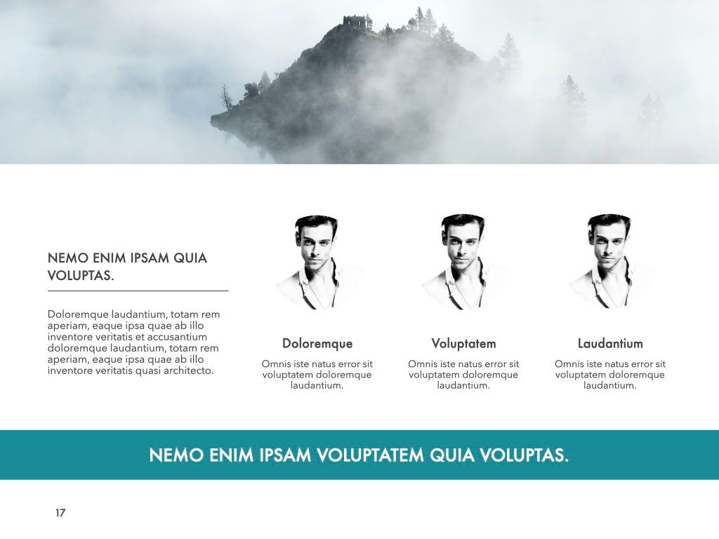 New Fame Powerpoint Presentation Template, Slide 10, 05840, Presentation Templates — PoweredTemplate.com
