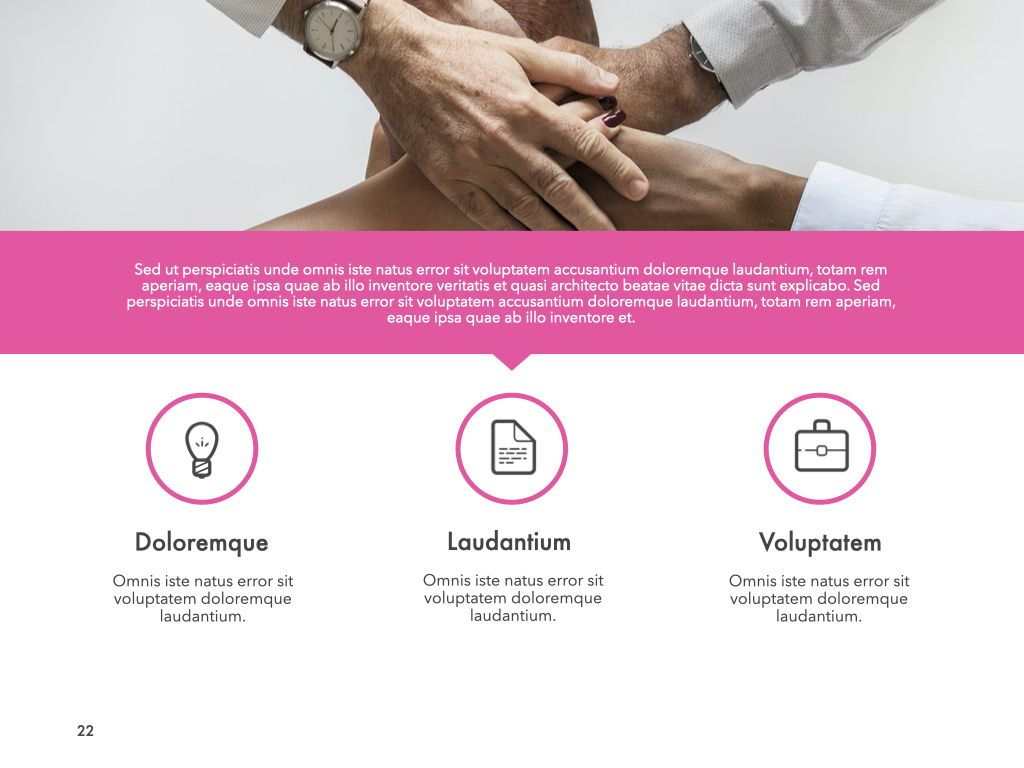 New Fame Powerpoint Presentation Template, Slide 16, 05840, Presentation Templates — PoweredTemplate.com