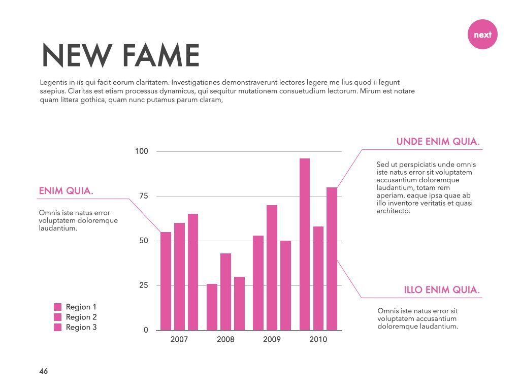New Fame Powerpoint Presentation Template, Slide 42, 05840, Presentation Templates — PoweredTemplate.com