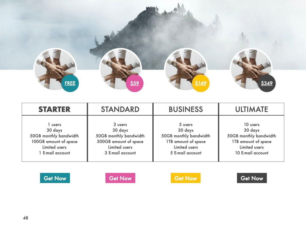 New Fame Powerpoint Presentation Template, Slide 44, 05840, Presentation Templates — PoweredTemplate.com