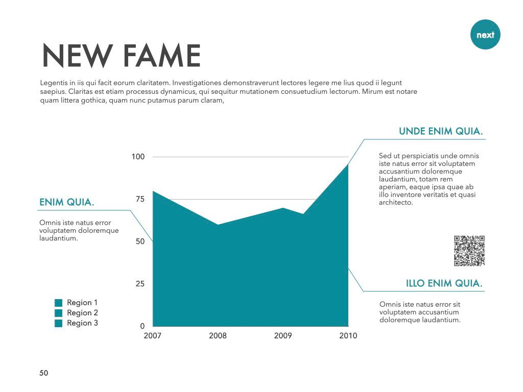 New Fame Powerpoint Presentation Template, Slide 47, 05840, Presentation Templates — PoweredTemplate.com