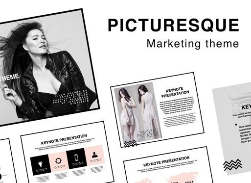 Presentation Templates: Picturesque Powerpoint Presentation Template #05844
