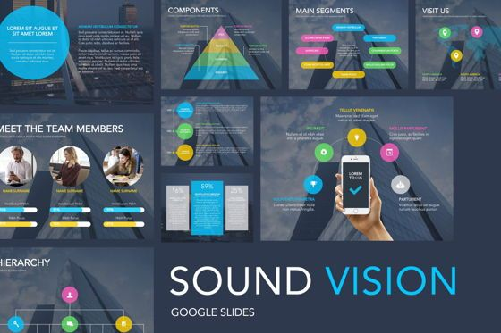 Presentation Templates: Sound Vision Google Slides #05860