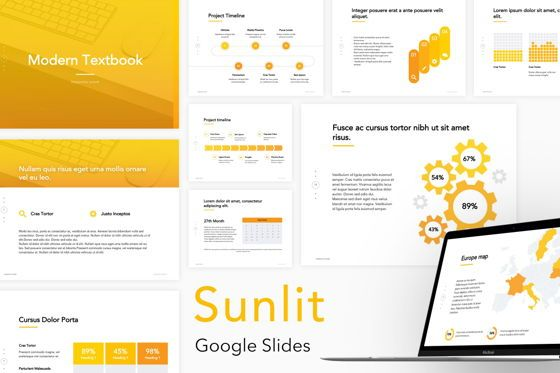 Presentation Templates: Sunlit Google Slides Templates #05861