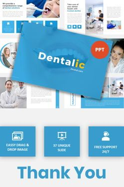 Presentation Templates: Dentalic - Dental Care PowerPoint Template #05873