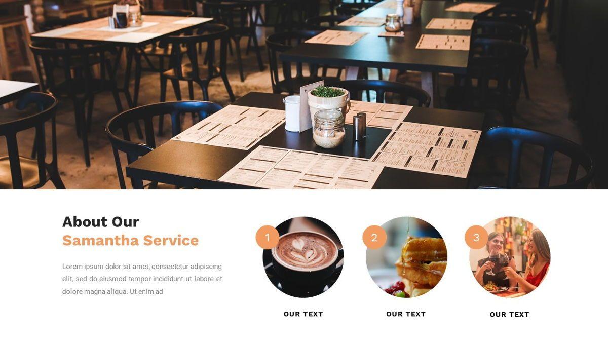 Samantha - Food Restaurant Powerpoint Template, Slide 11, 05875, Presentation Templates — PoweredTemplate.com