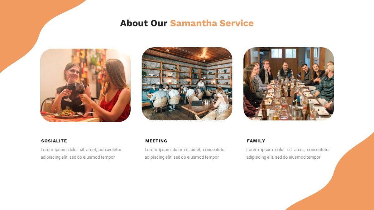 Samantha - Food Restaurant Powerpoint Template, Slide 12, 05875, Presentation Templates — PoweredTemplate.com