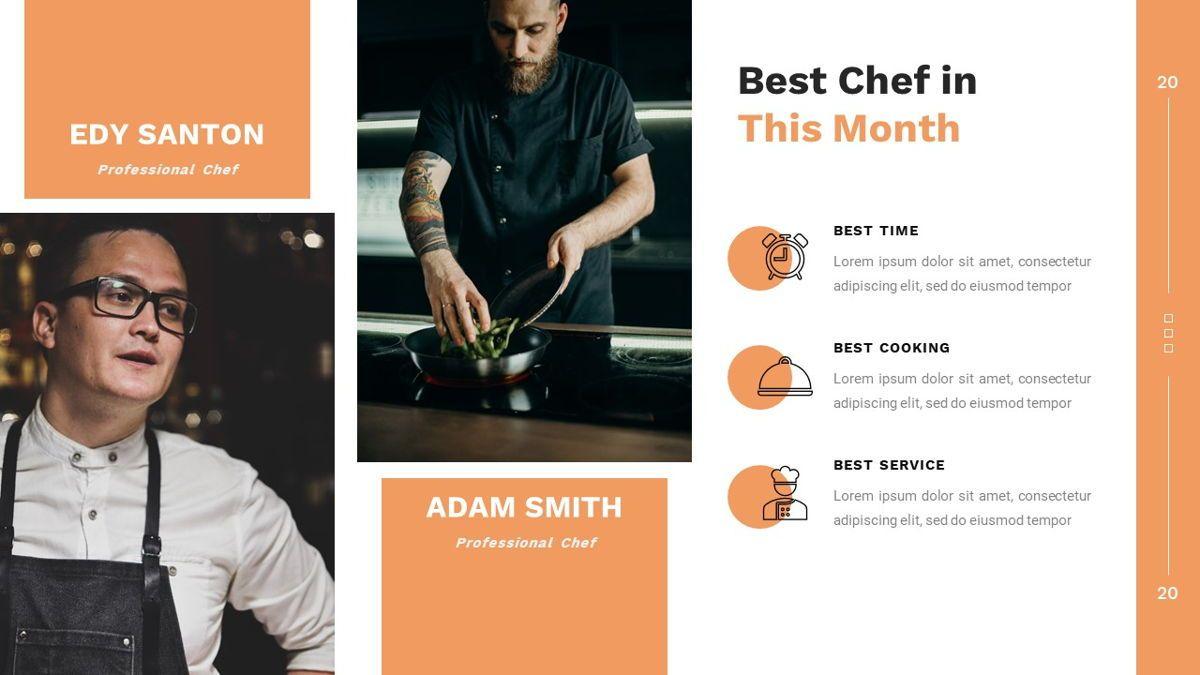 Samantha - Food Restaurant Powerpoint Template, Slide 16, 05875, Presentation Templates — PoweredTemplate.com