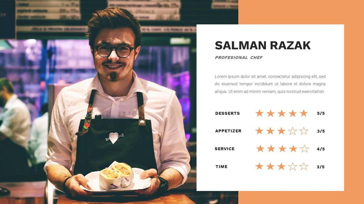 Samantha - Food Restaurant Powerpoint Template, Slide 18, 05875, Presentation Templates — PoweredTemplate.com