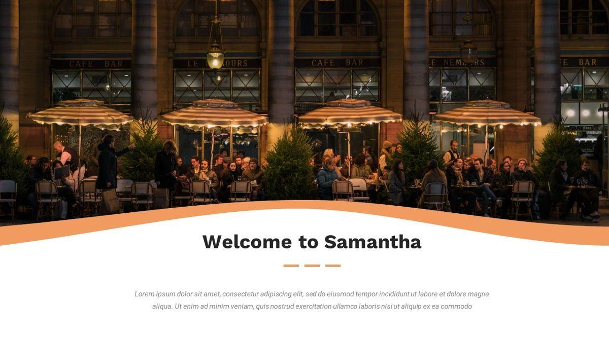 Samantha - Food Restaurant Powerpoint Template, Slide 2, 05875, Presentation Templates — PoweredTemplate.com