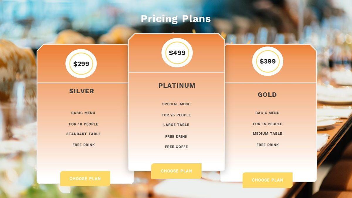 Samantha - Food Restaurant Powerpoint Template, Slide 30, 05875, Presentation Templates — PoweredTemplate.com