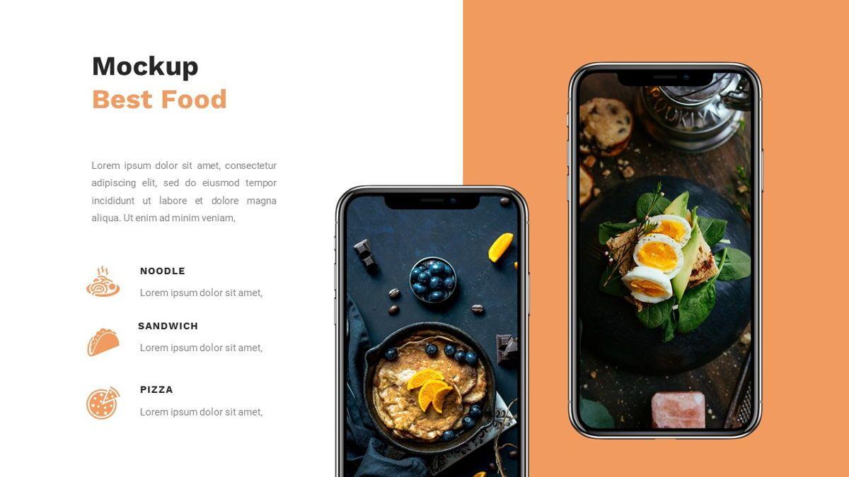 Samantha - Food Restaurant Powerpoint Template, Slide 31, 05875, Presentation Templates — PoweredTemplate.com