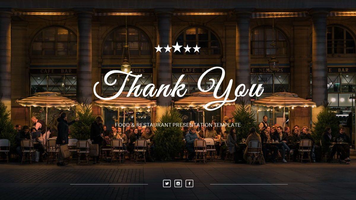 Samantha - Food Restaurant Powerpoint Template, Slide 38, 05875, Presentation Templates — PoweredTemplate.com