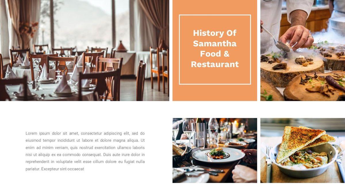 Samantha - Food Restaurant Powerpoint Template, Slide 5, 05875, Presentation Templates — PoweredTemplate.com