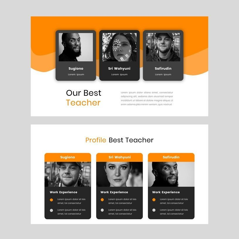 Kampuss - PowerPoint Template, Slide 10, 05880, Presentation Templates — PoweredTemplate.com